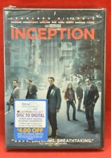 SEALED Inception DVD Pre-Viewed Clean Disc Warner Bros. PG-13 Widescreen