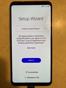 LG V30 ThinQ Cloud Silver 64GB (Unlocked) Smartphone Verizon Waterproof