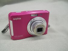 Sanyo S1085 10.0MP Pink Digital Camera Point & Shoot 10 MP easy to set and use