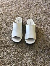 Next White Open Toe Shoes Size 6