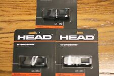Head Hydrosorb Racquetball Replacement Grip Black,Three Sets