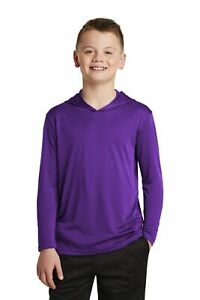 YST358 Sport-Tek Youth PosiCharge Competitor Hooded Pullover