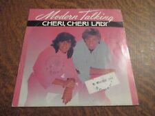 45 tours MODERN TALKING cheri, cheri lady