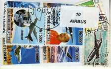 AVIONS AIRBUS 10 timbres différents