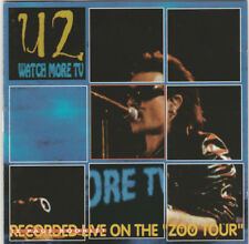 U2 - Watch More TV CD Recorded live at The Silverdrome, Detroit, MI, 9/9/92