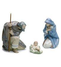 Lladro #7804 Silent Night Gift Box Nativity Set Brand Nib Christmas Save$ F/Sh