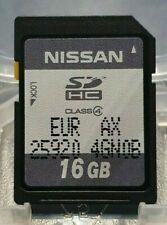 INFINITI NISSAN SAT NAV SATELLITE NAVIGATION SD CARD FULL EUROPE 25920 4GN0B