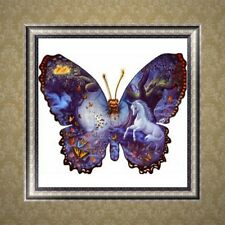 5D DIY Butterfly Diamond Painting Cross Stitch Embroidery Home Wall Decor Craft