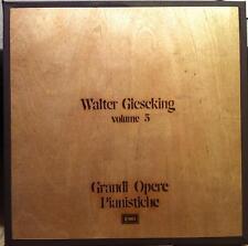 WALTER GIESEKING grandi opere pianistiche 8 LP Mint- 3C 153 52434 41 Vinyl