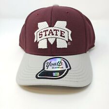 Youth Mississippi State Bulldogs Hat Cap Maroon Snapback NCAA