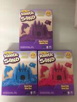 Spin Masters Kinetic Sand Neon Lila,Rosa,Blau Neu / Ovp Spielsand