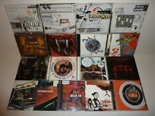 17 CD TECHNO DRUM N BASS . SPIRAL TRIBE RADIO BOMB 69db CRYSTAL DISTORTION FKY
