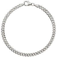 Panzerarmband 925 Sterling Silber Armband 21 cm Herren Damen Schmuck Geschenk