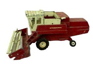 "Large 14"" Vintage ERTL Diecast Farm Tractor Combine International Hydrostatic"