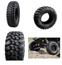 Tusk Terrabite Radial ATV UTV Tire Kit Set Of Four 4 Tires 32x10-14 32 inch tall