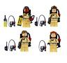 Minifiguren Ghostbusters, LEGO® kompatibel, NEU