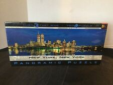 Panoramic New York Twin Towers 750 Puzzle