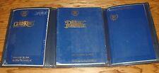 Original 1987 Cadillac Deville / Fleetwood Owners Operators Manual 87 w/ Case