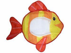 Bieco® Badewannennetz mit Saugnäpfen Fisch Spielzeugaufbewahrung Badewanne