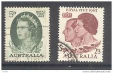AUSTRALIA, 1963 royal visit set  FU (D)