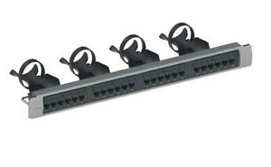 CommScope 760152587 Systimax 360 GigaSPEED X10D 1100GS6 Cat 6A Patch Panel 24 P