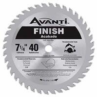 Avanti 7-1/4 in. x 40-Tooth Finish Circular Saw Blade