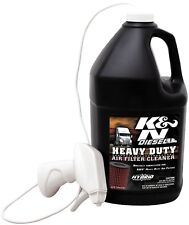 K&N 99-0638 Heavy Duty Air Filter Cleaner and Degreaser - 1gal.