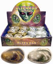 12x Big Alien Huevo comprar a granel Bolsillo Dinero Birthpod Juguetes Niños Relleno Bolsa Fiesta