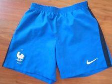 Boys Blue NIKE FRANCE FOOTBALL Shorts (age7-8) *NICE COND*