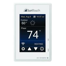 SunTouch Connect WiFi Touchscreen Programmable Heat Thermostat 500875 120V /240V