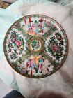 Early Chinese Rose Medallion Charger Plate