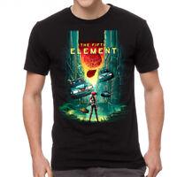The Fifth Element 5th Element Men's Black T-shirt NEW Sizes S-2XL