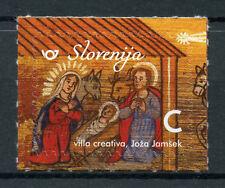Slovenia 2018 MNH Christmas & New Year Nativity Value C 1v S/A Set Stamps