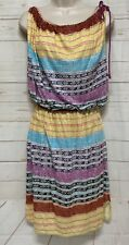 Plenty by Tracy Reese Convertible Chemise Dress Multicolor Size Small NWT!!