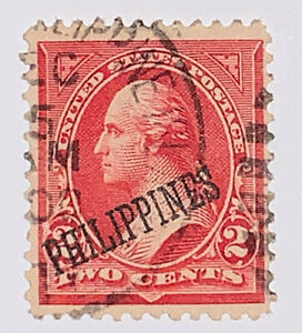 Travelstamps: US Philippines Stamps Scott #214 1899 2 Cent Washington Used NG