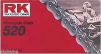 CHAINE SECONDAIRE SIMPLE RK 520D 104 MAILLONS ATTACHE RAPIDE
