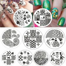 BORN PRETTY 10 Pcs BP21-30 Nail Art Stamping Plate Stamp Template Image Plates