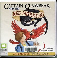 BOLINDA AUDIO CD : CAPTAIN CLAWBEAK & THE RED HERRING