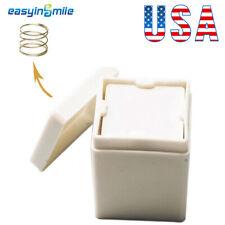 Dental White Gauzecotton Pad Sponge Dispenser Holder Spring Loaded Easyinsmile