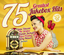 CD 75 Greatest JUKEBOX hits de various artists 3cds