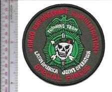 DEA Drug Enforment Admin & 7th Special Forces Group ABN Latin America Joint Op
