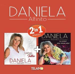 DANIELA ALFINITO 2 in 1 Liebes Tatto + Du warst jede Träne wert  2 CD NEU & OVP