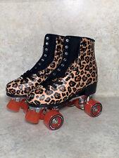 Impala - Quad Roller Skates - Womens Leopard Sz 9 ,10,&  11