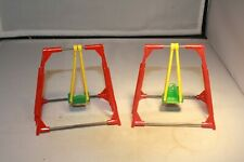 2 Single-Seat Swing Set Acme Toys Made in USA Mint!