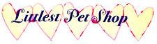 """8"""" Littlest pet shop heart banner wall safe fabric decal cut out character"""