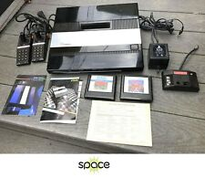 ATARI 5200 SYSTEM W/ MANUAL & LOT OF 2 GAMES BERZERK & COUNTERMEASURE - TESTED