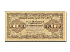 [#251125] Poland, 100,000 Marek, 1923, KM #34a, 1923-08-30, UNC(60-62), F