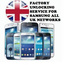 Reino Unido EE Tmobile naranja Etc. Samsung Galaxy Note 4 S6 S7 + Plus código de desbloqueo de borde