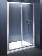 Recessed Shower Enclosure, 1000 x 800mm Tray & 1000 x 6mm Sliding door