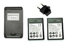 2 x batterie 2300mah + chargeur & EU  pour Samsung Galaxy S3 i9300 i9305  BT2+C